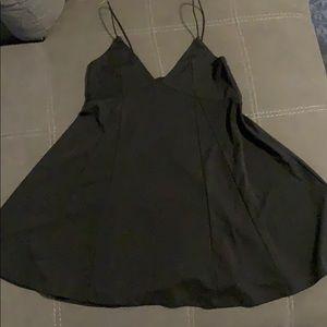 Kendall & Kylie Black slip dress